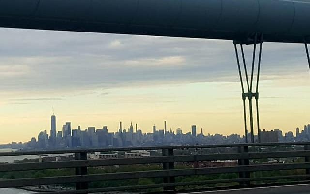 2019 East Coast Golf Journey: Hello New York City from the Verrazzano Bridge!