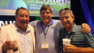 With host John Maginnes and guest speaker Hugh Royer III at the 2019 Myrtle Beach World Am.