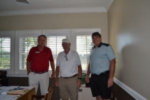 With Doug Cartin and Bob Thobodeau (center)!